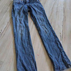 Old Navy Girls Denim Skinny Jeans Blue Wash Pants